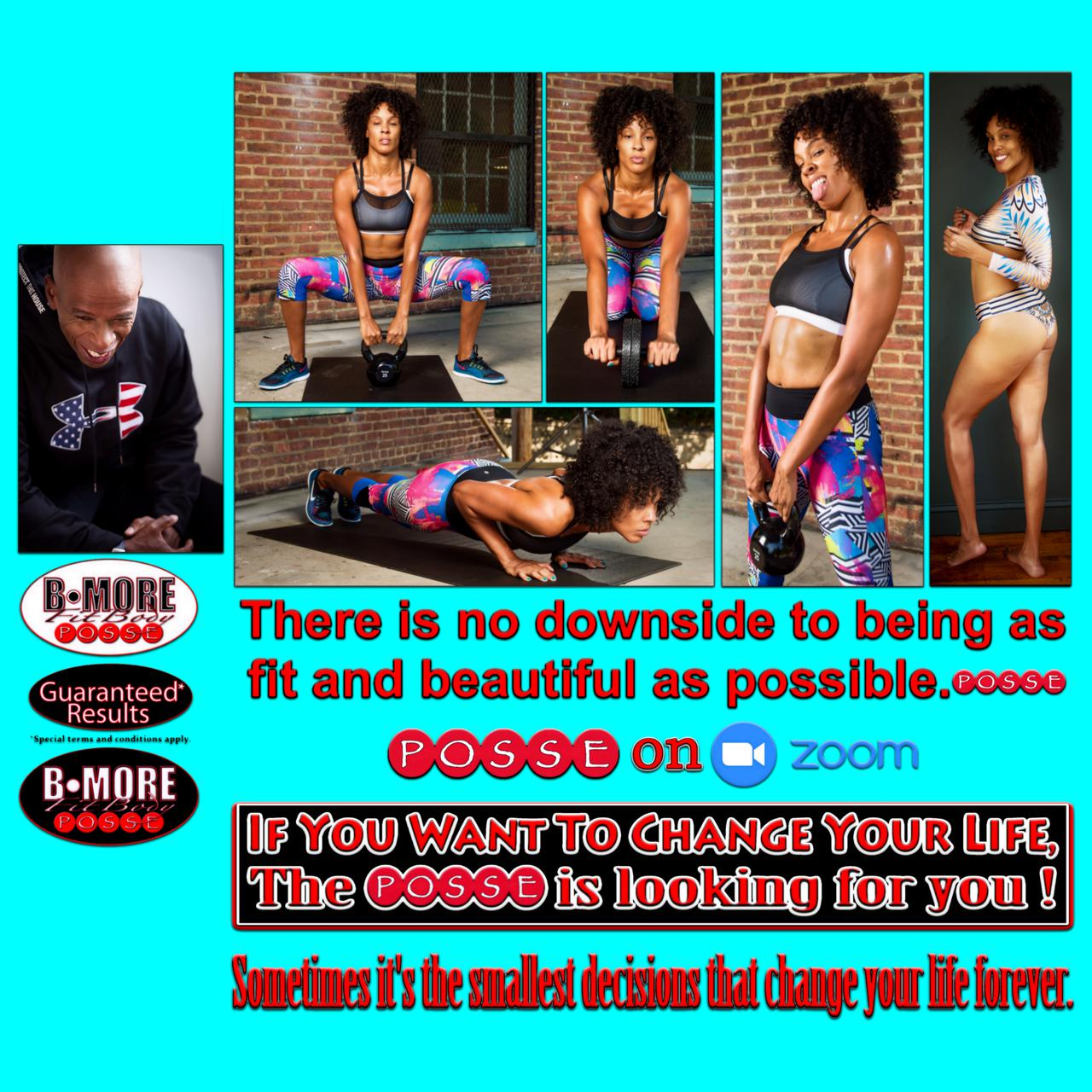 In-home fitness training in Baltimore, MD.
