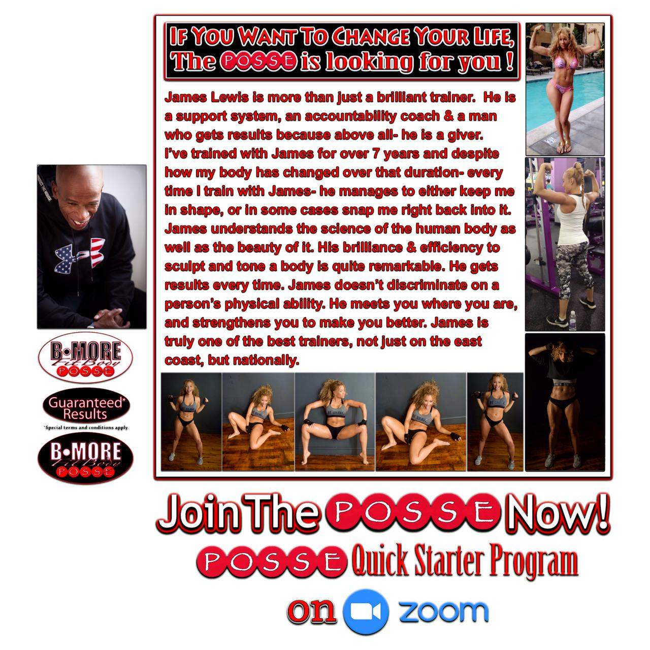 Celebrity fitness trainer in Maryland.