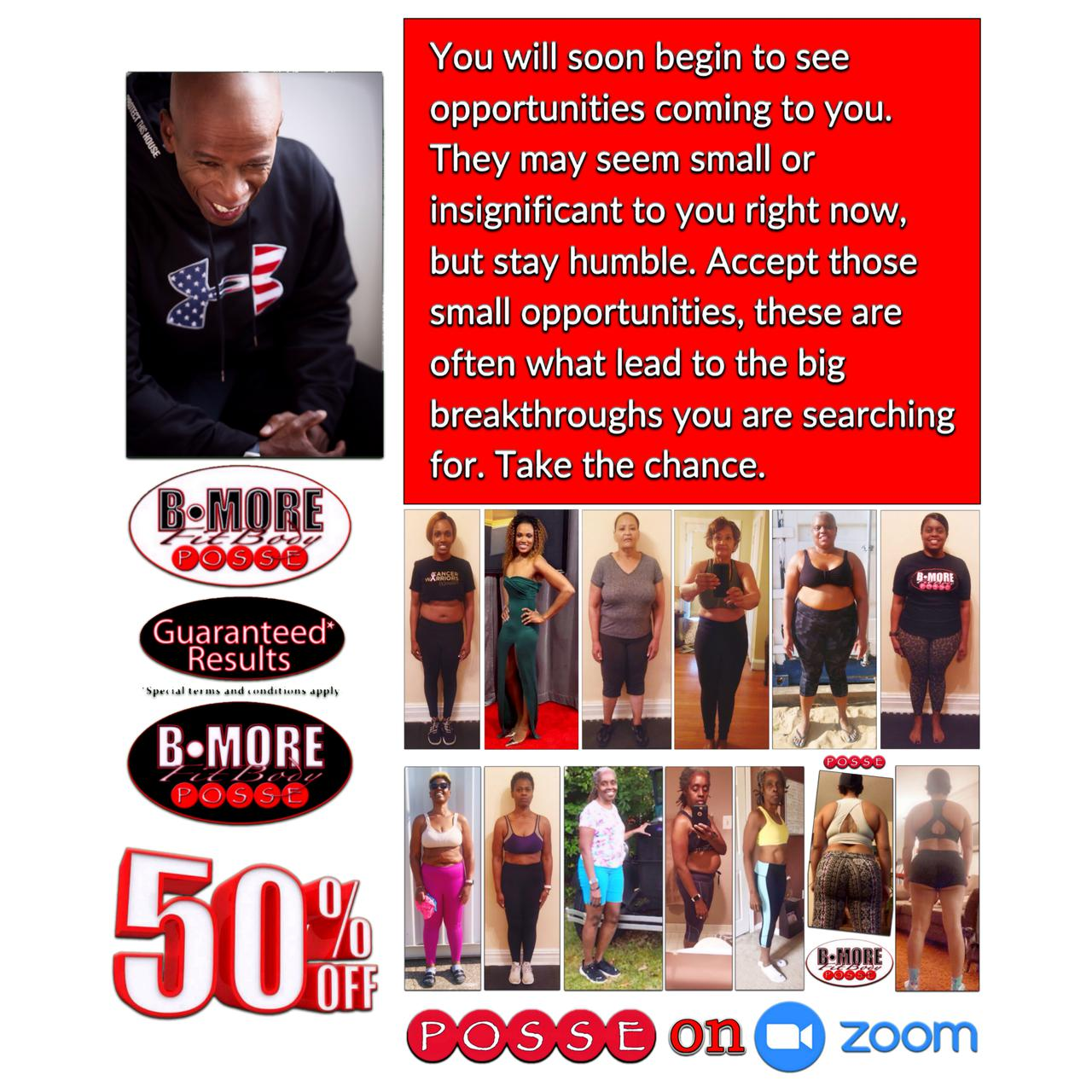 borefitbody POSSE health lifestyle coach.