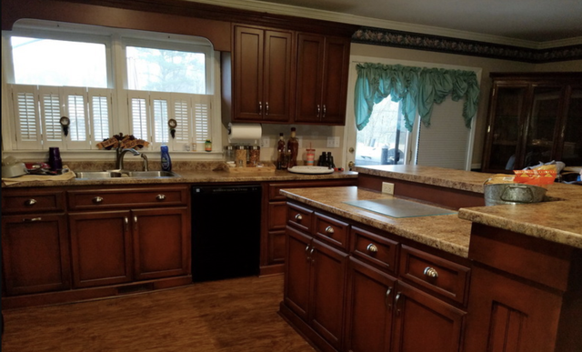 cabinet and furniture glazing and painting north alabama