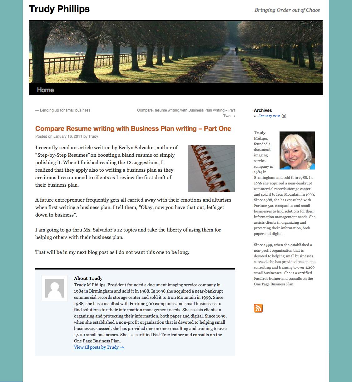 trudy phillips - compare resume writing with bus. plan writing.jpg