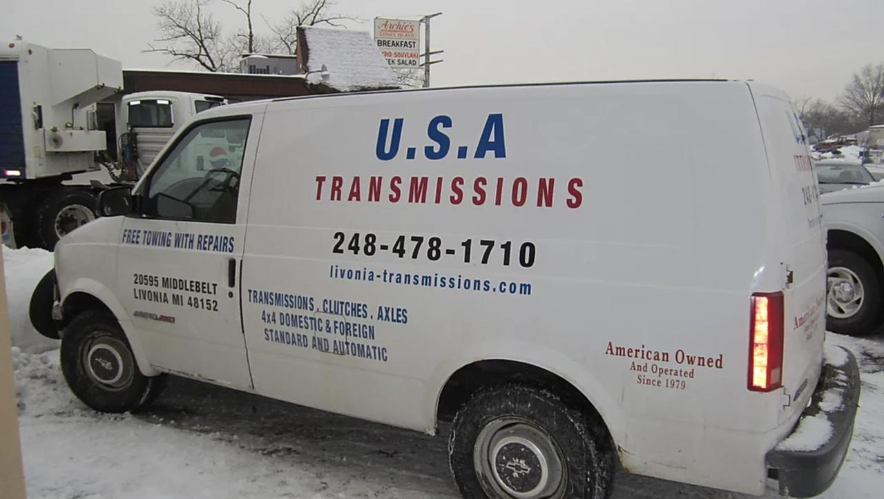 detroit transmission repair shop