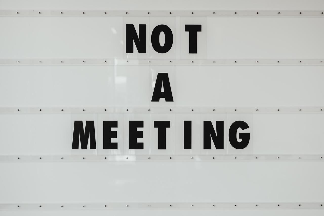 NOT A MEETING