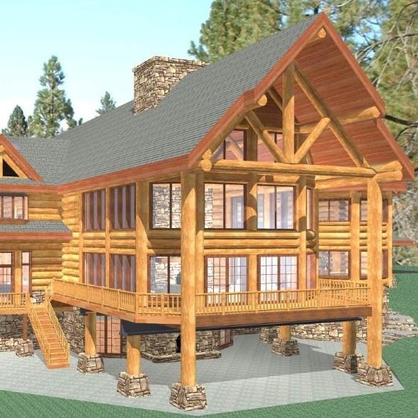 Original 3 story design