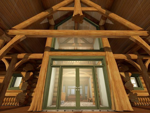 Grand Foyer Design from outside.