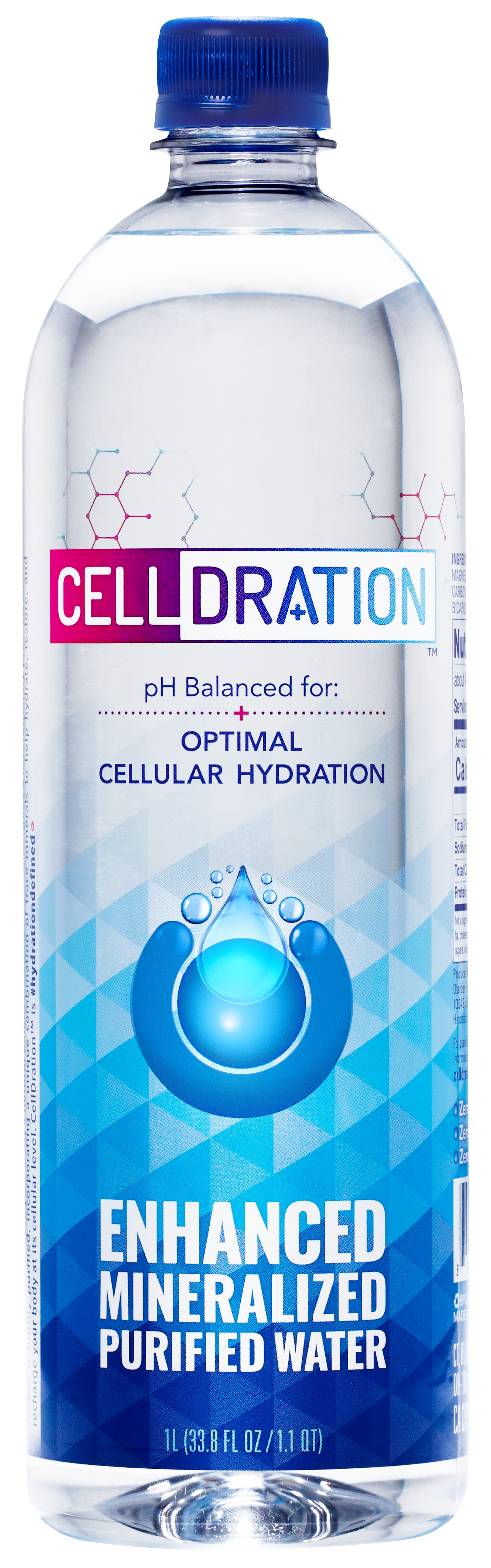 CellDration offers a unique enhanced mineralized water hydration system that helps to restore your body's natural balance. Balance is the body's way of creating well being.