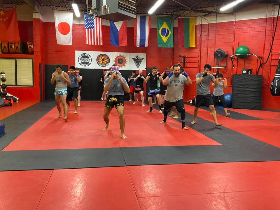Lisle, IL kickboxing classes.