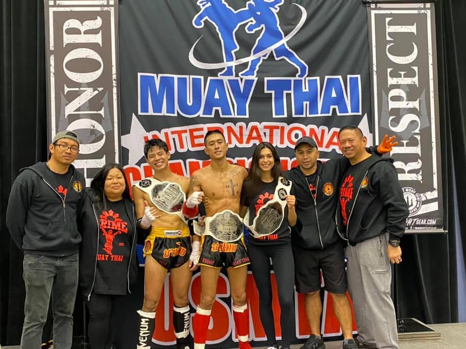 A Muay thai gym in Lisle Il.