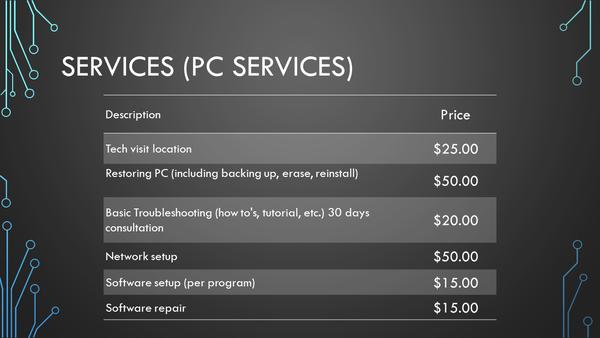 PC Services