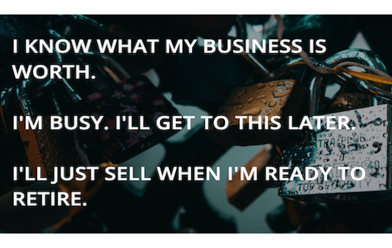 I know what my business is worth