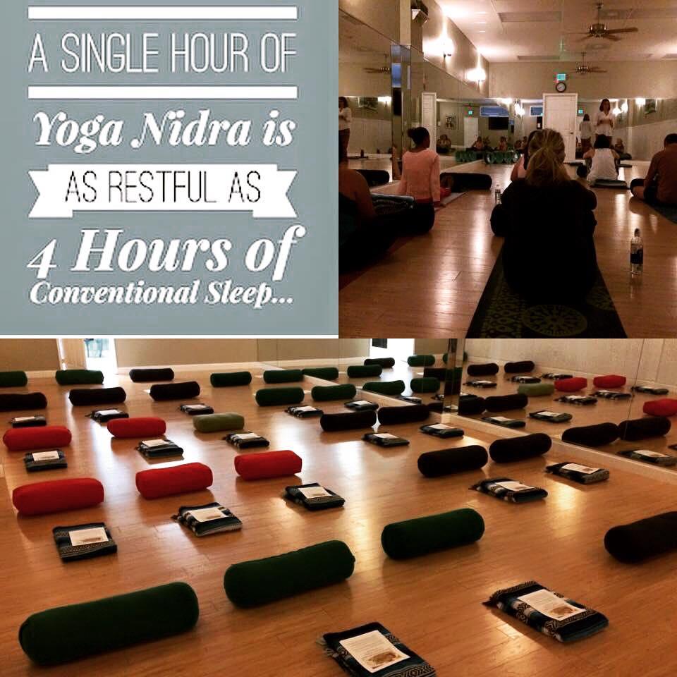 YOGA NIDRA (meaning: yogic sleep)