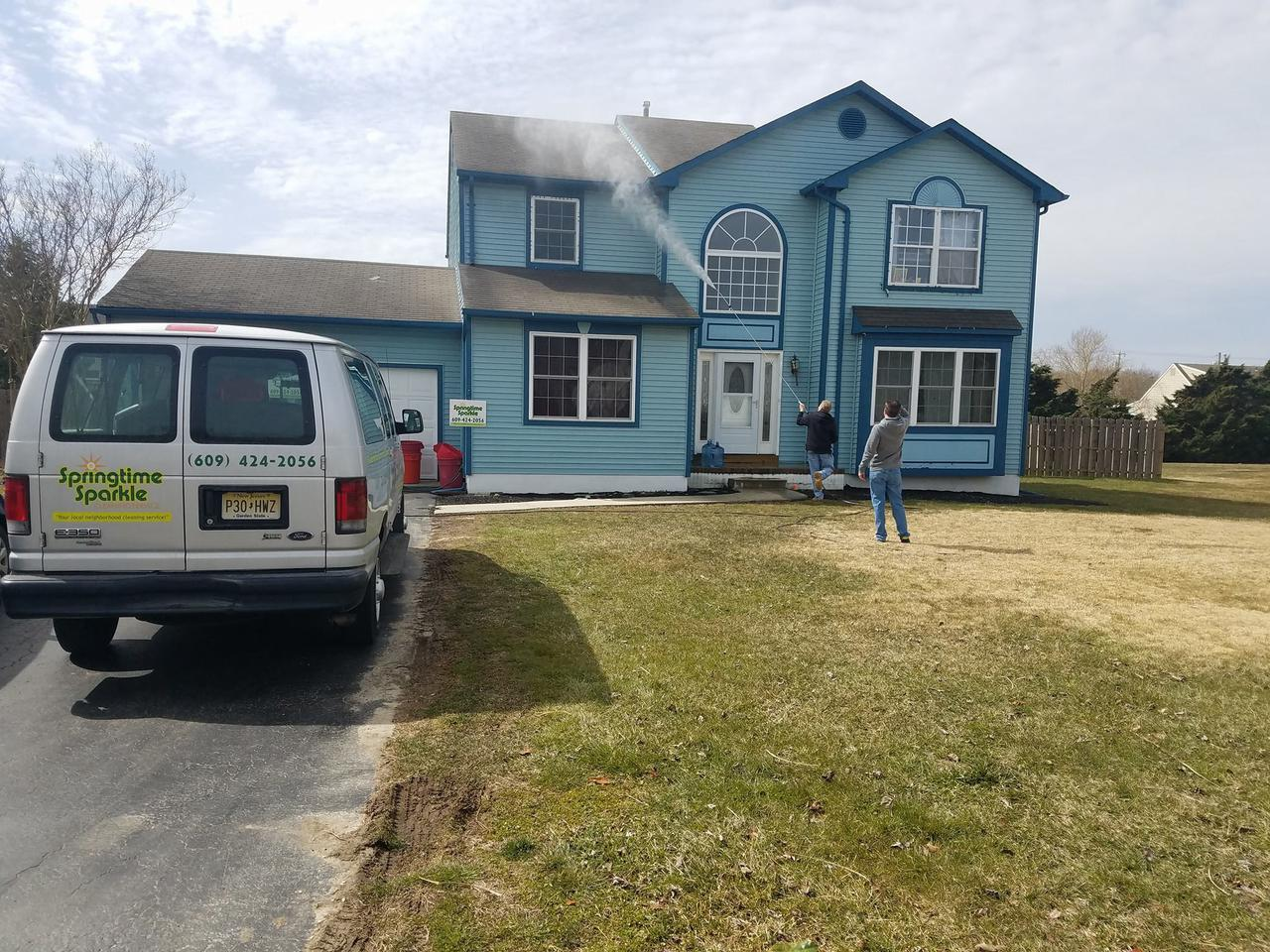 local pressure washing service by Springtime Sparkle Cleaning Service LLC