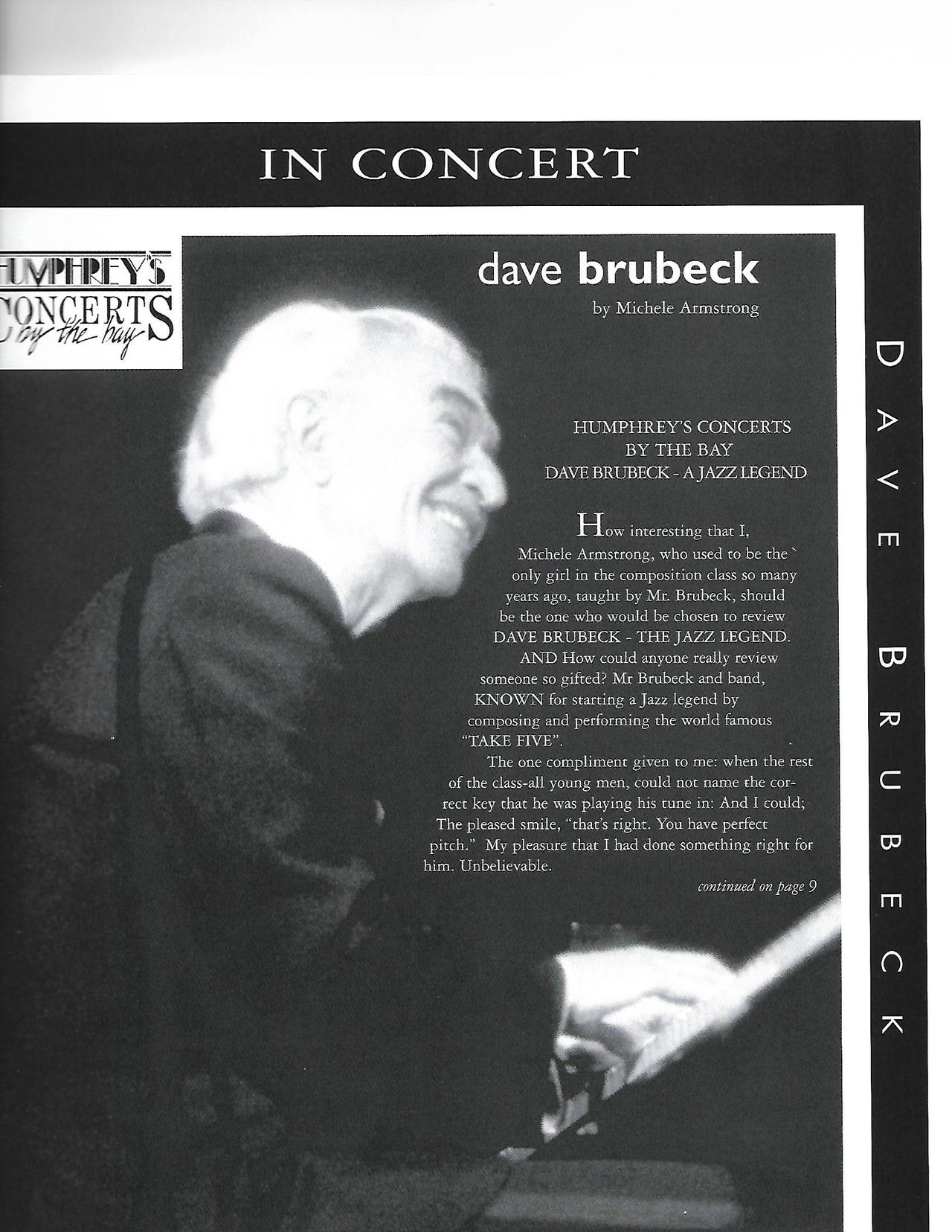 DAVE BRUBECK ARTICLE BY MICHELE ARMSTRONG  99.jpg