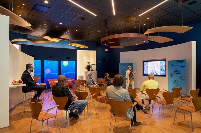 Healthcare speaker and innovative interior design ideas