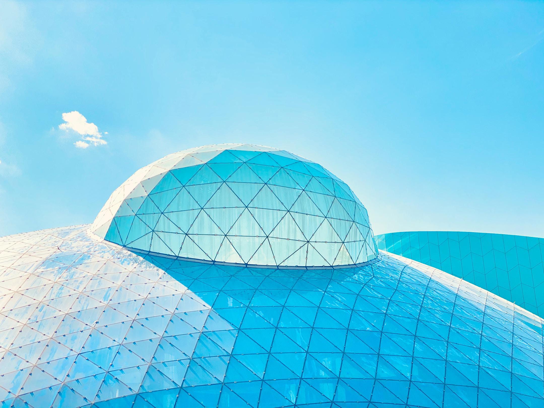 Bubble Build in Nihat Zeybekci Kongre ve Kültür Merkezi Denizli.