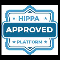 HIPPA approved platform