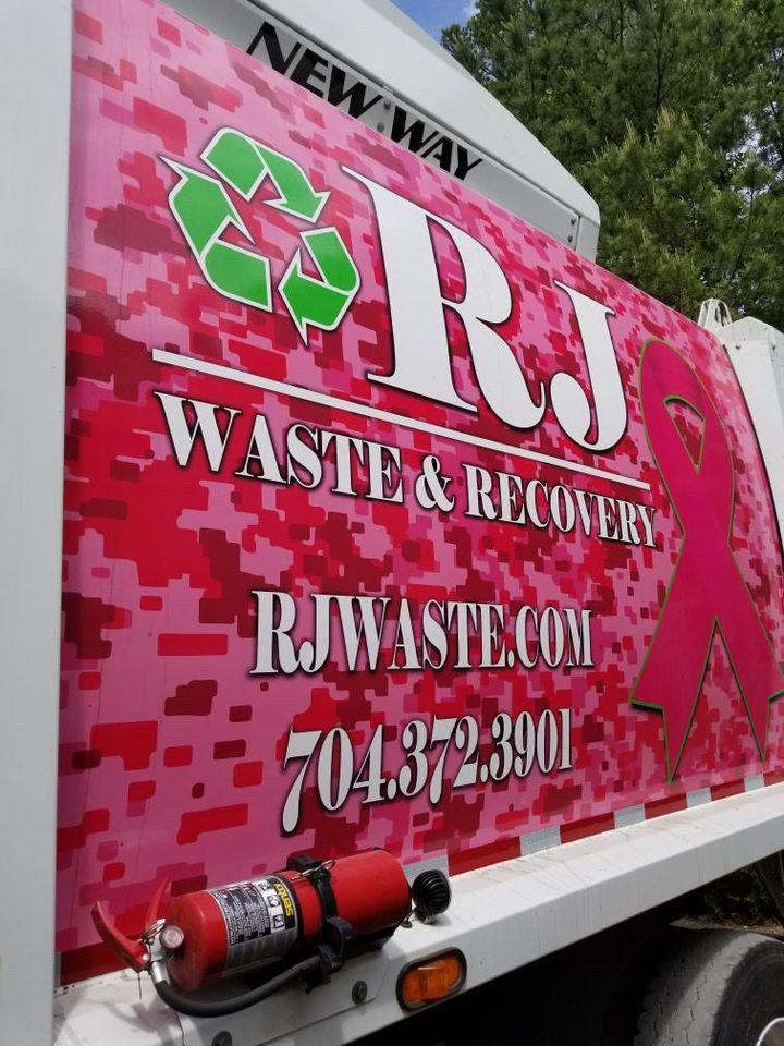 RJ Waste & Recovery truck