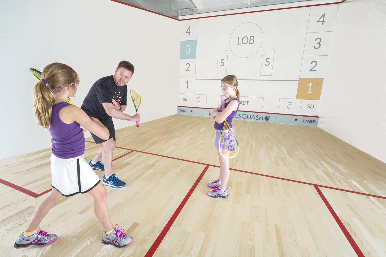 This is an image of a squash academy in Port Chester, NY.