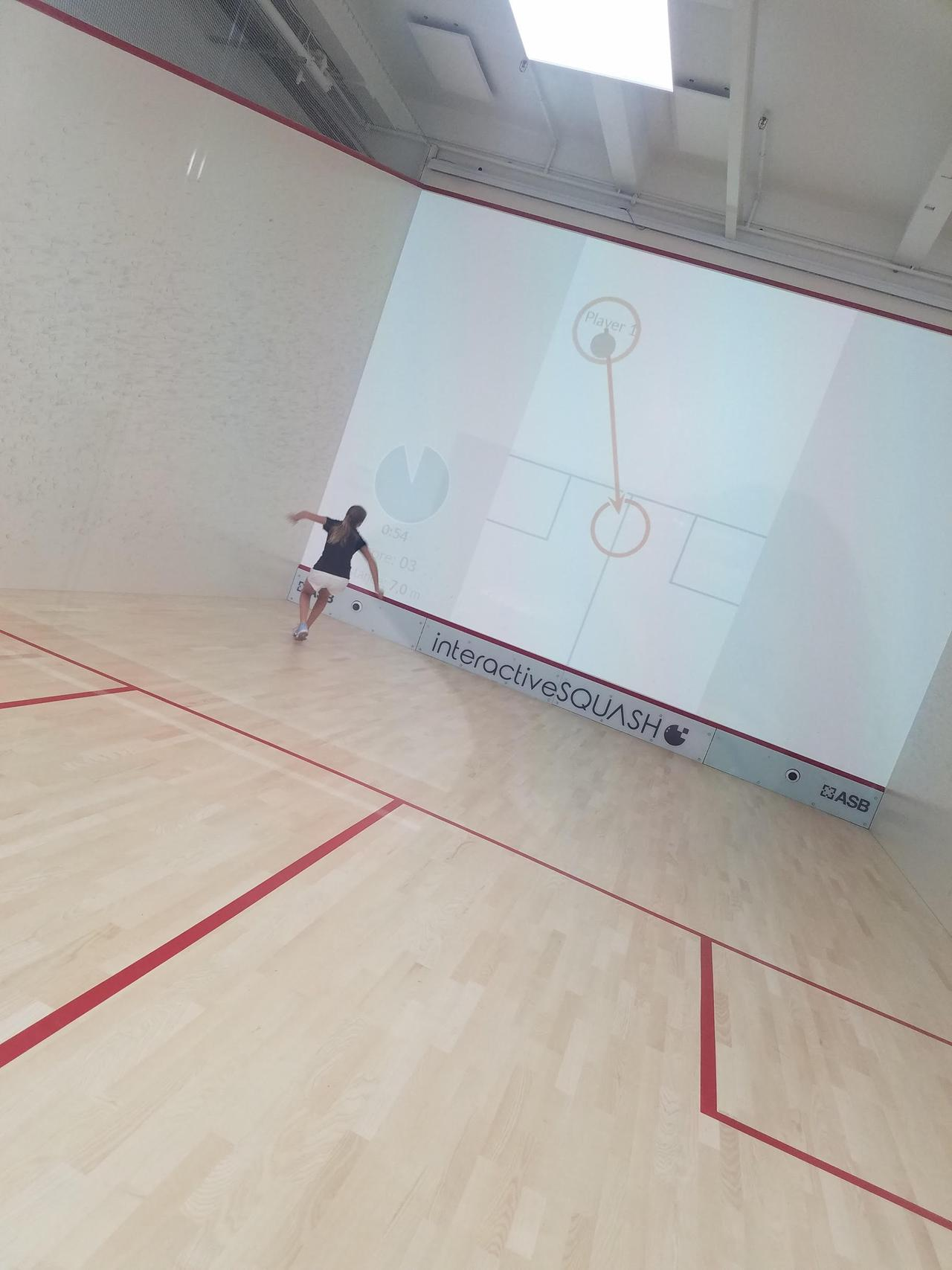This is an image of physical conditioning for squash in Westport.