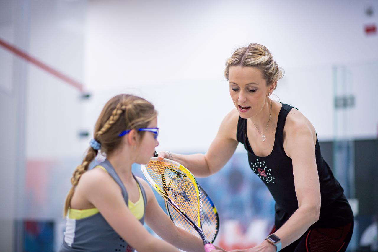 This is a team member at Msquash by Shaun Moxham in Greenwich, CN.