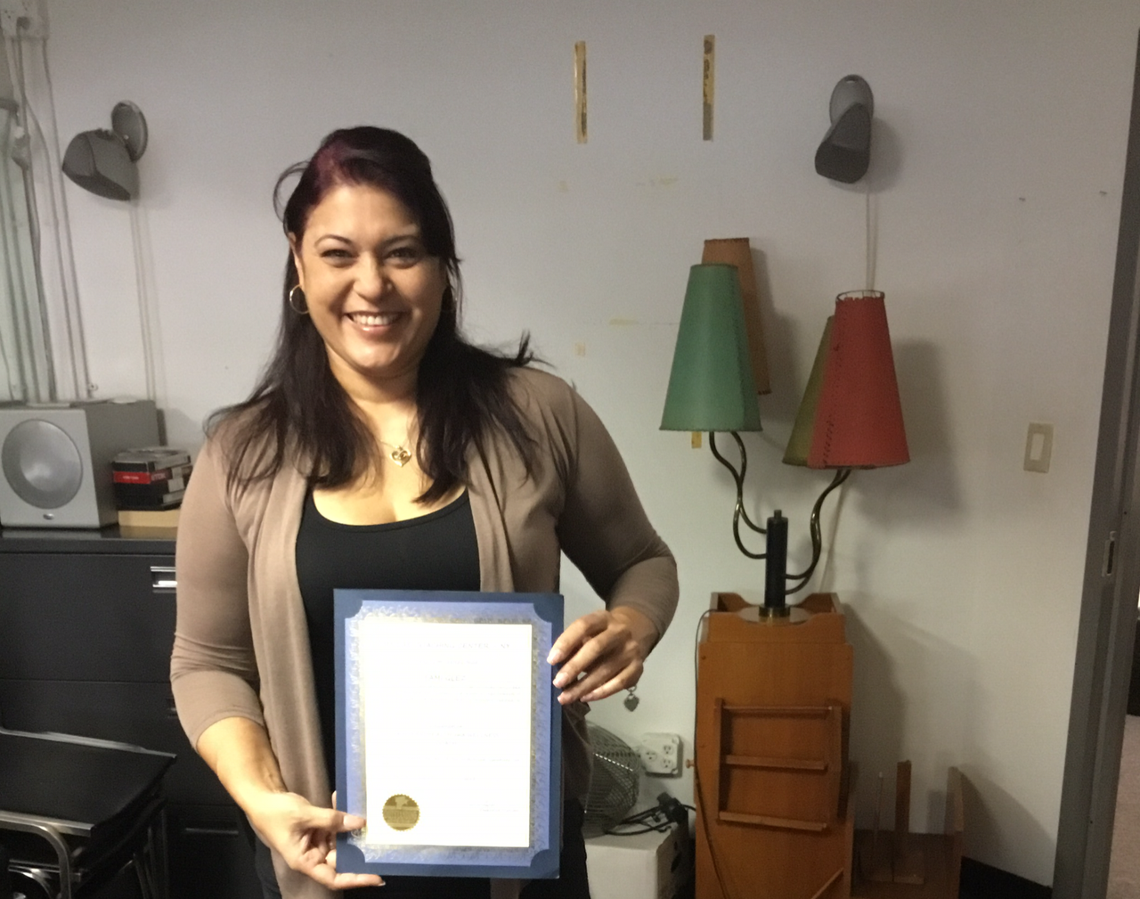 Former Ms. Puerto Rico Earns Certification