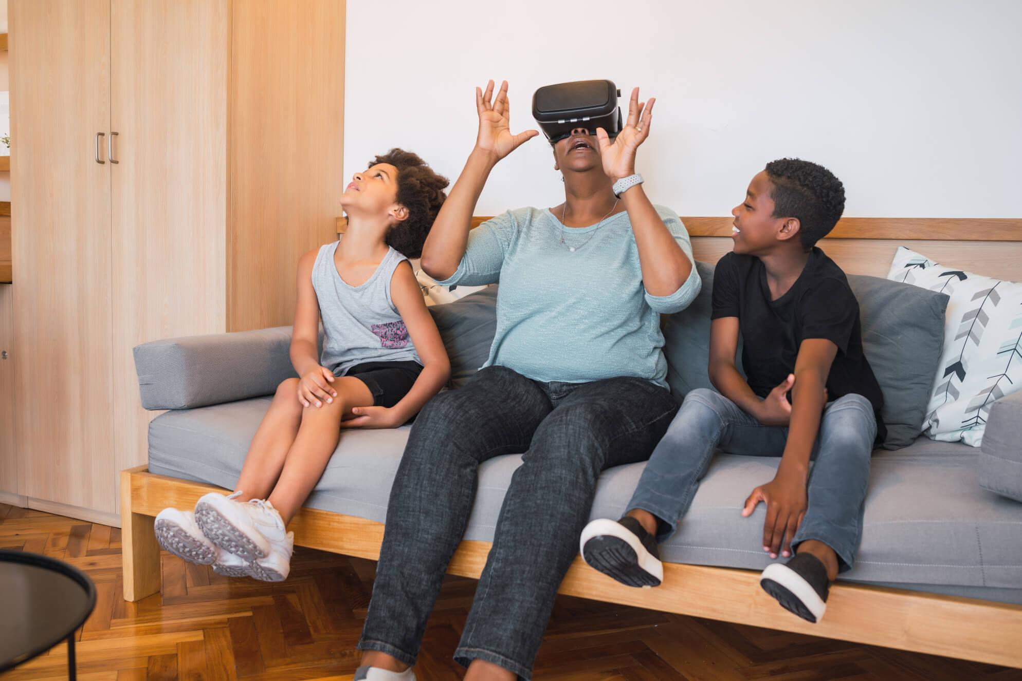 virtual reality and seniors