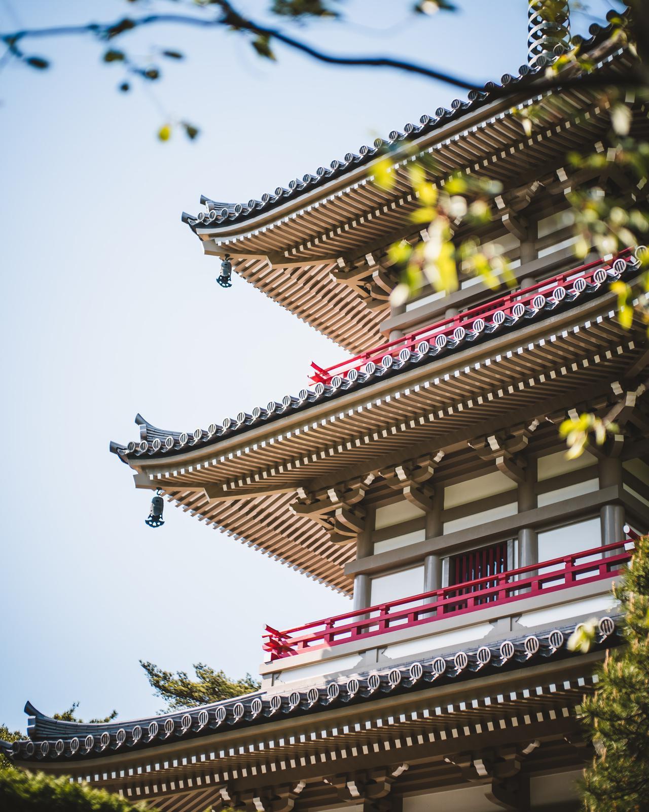 Beautiful pagoda at Rinnō-ji Temple, Sendai, Miyagi Prefecture.