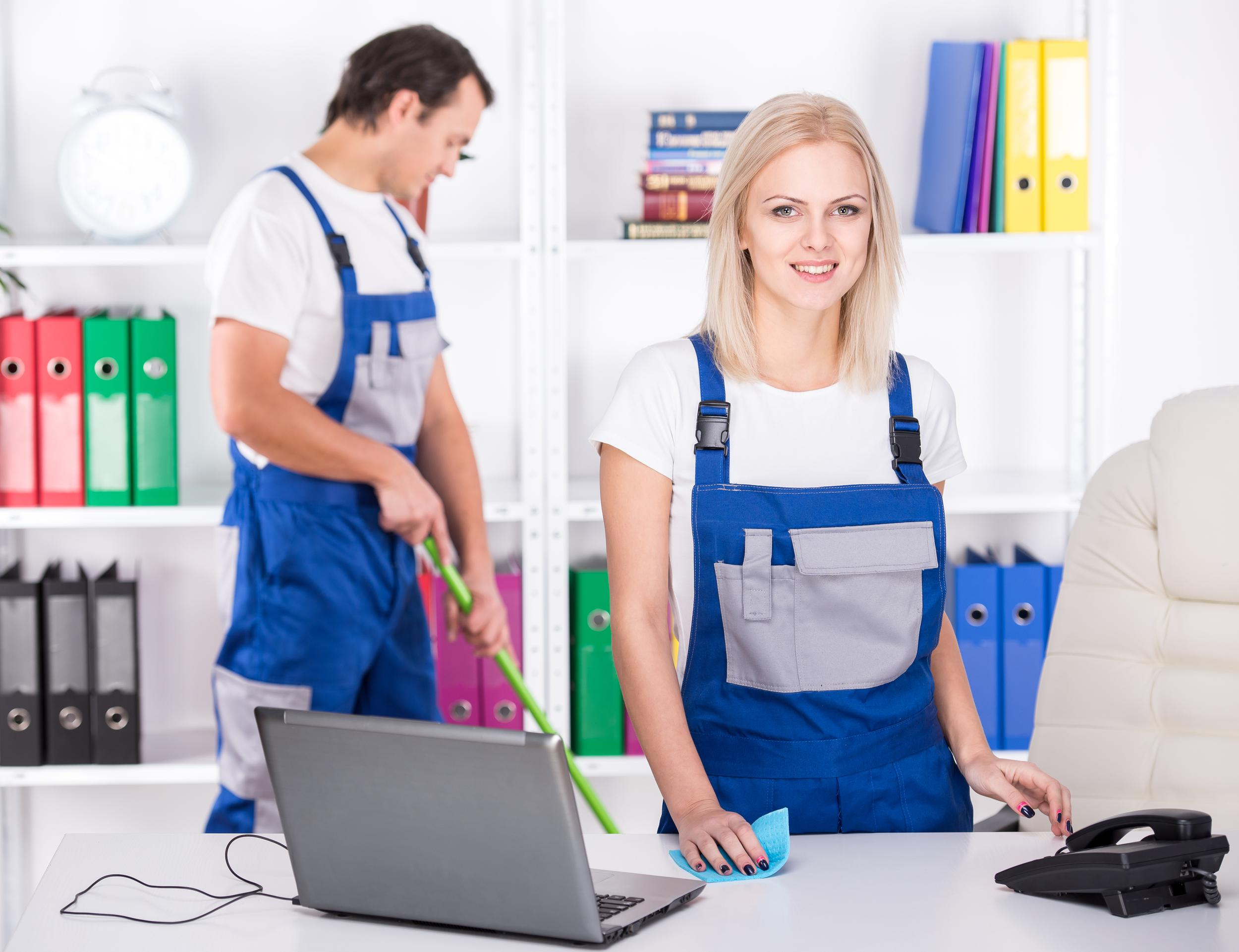 Vancouver office cleaning services.