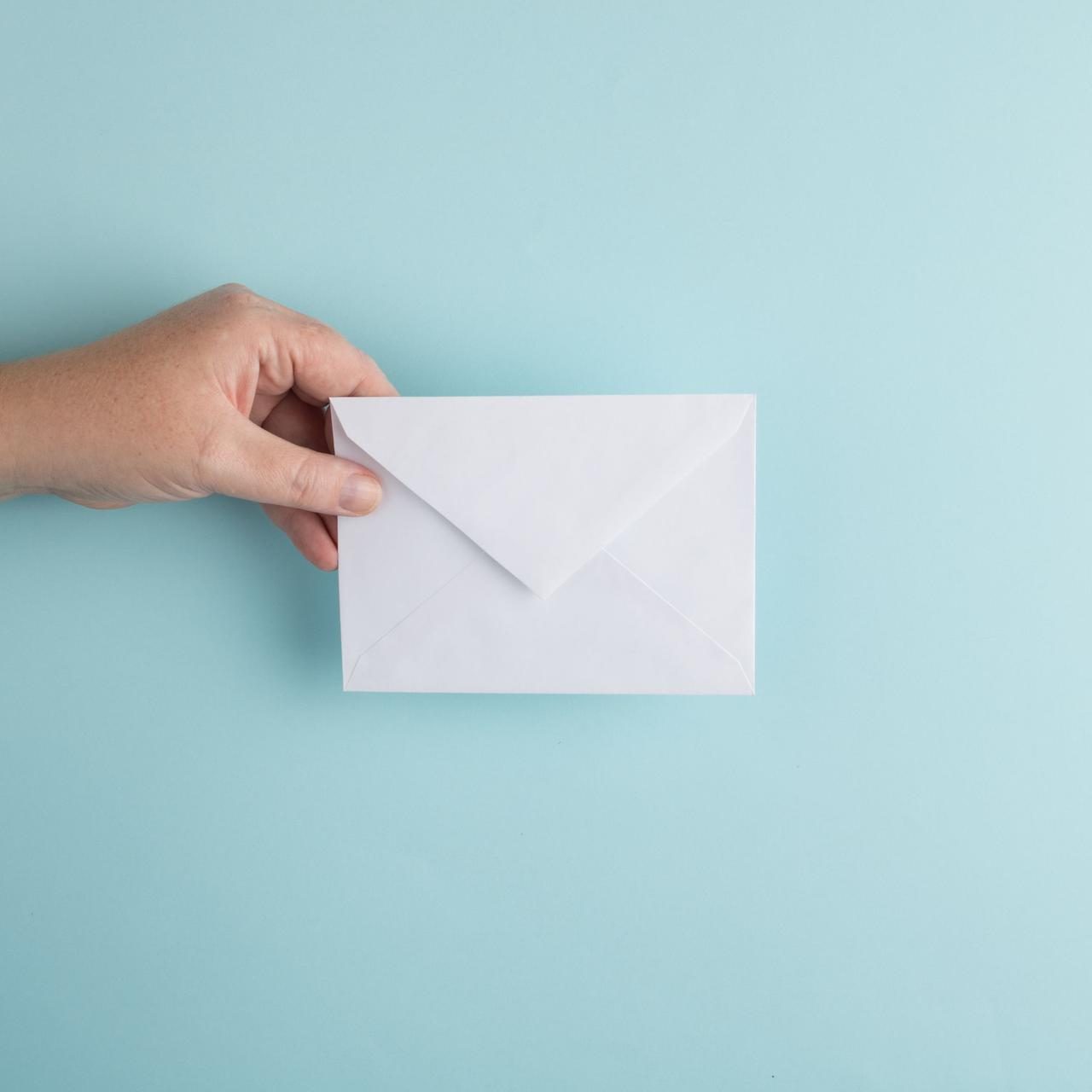 envelope used in direct mail marketing