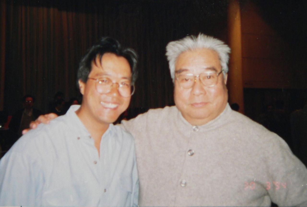 Yo-yo Ma and Li Delun