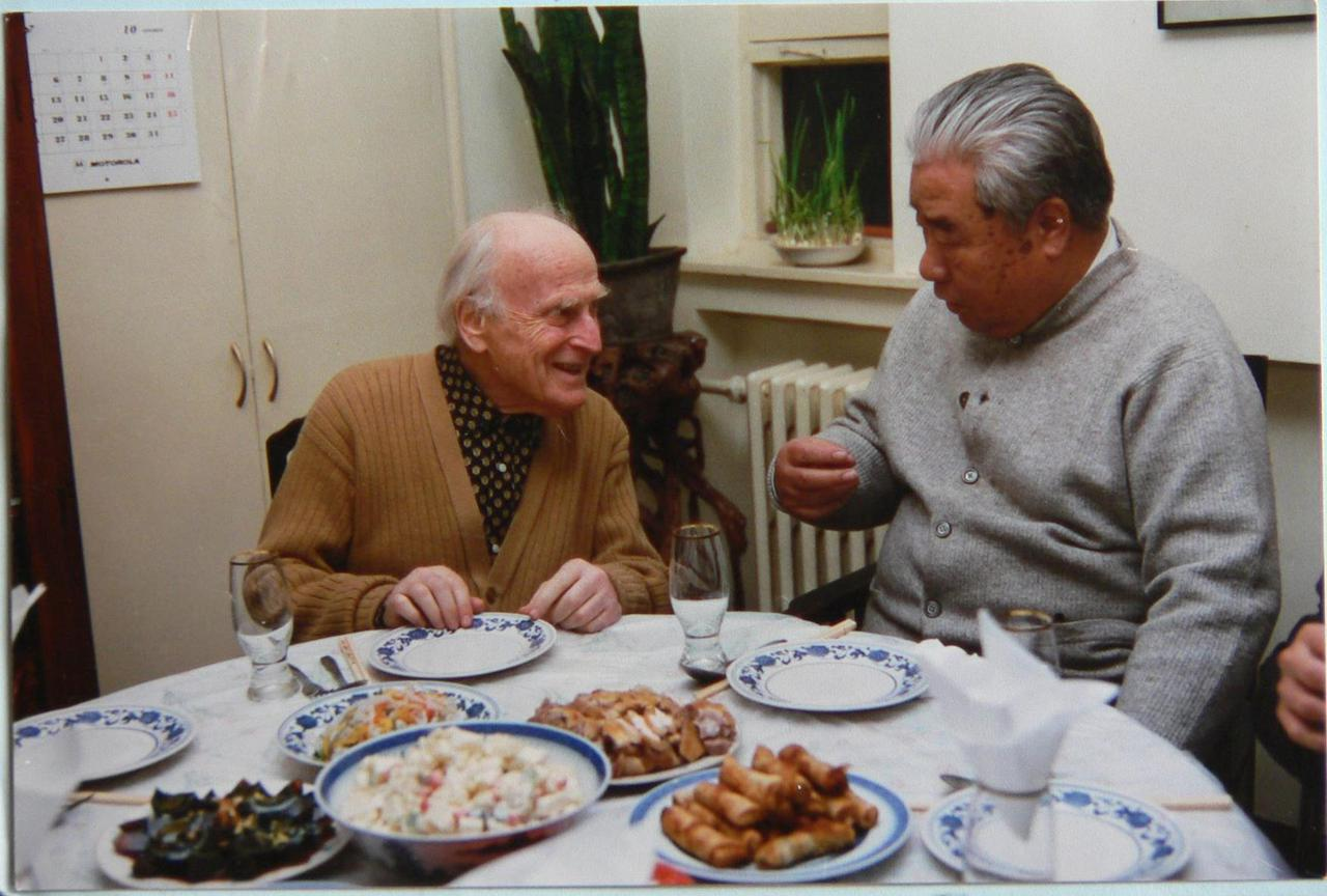 In violinist Yehudi Menuhin traveled to Beijing and performed the