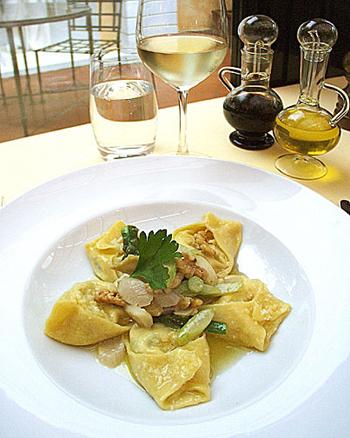 Artichoke & Asparagus Ravioli