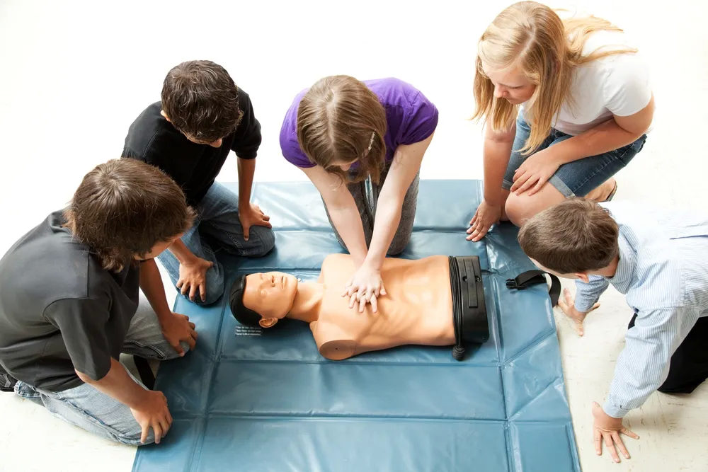 New England Training Solutions CPR Training class