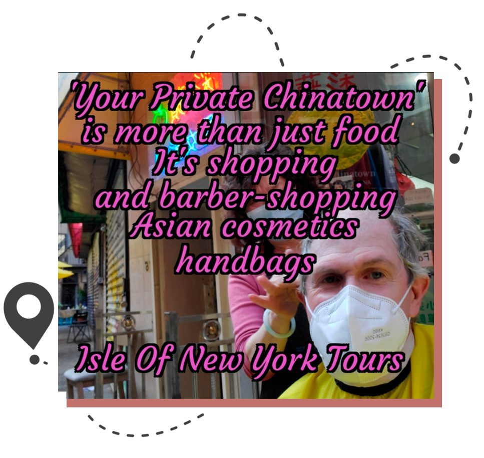 You won't have just any normal trip through Chinatown when you partner with us.