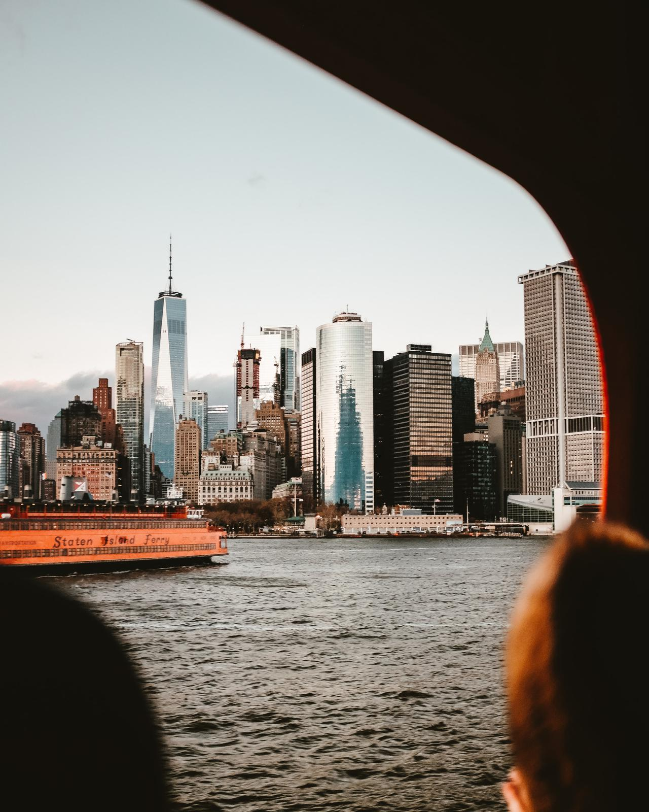 New York Skyline from the Staten Island Ferry