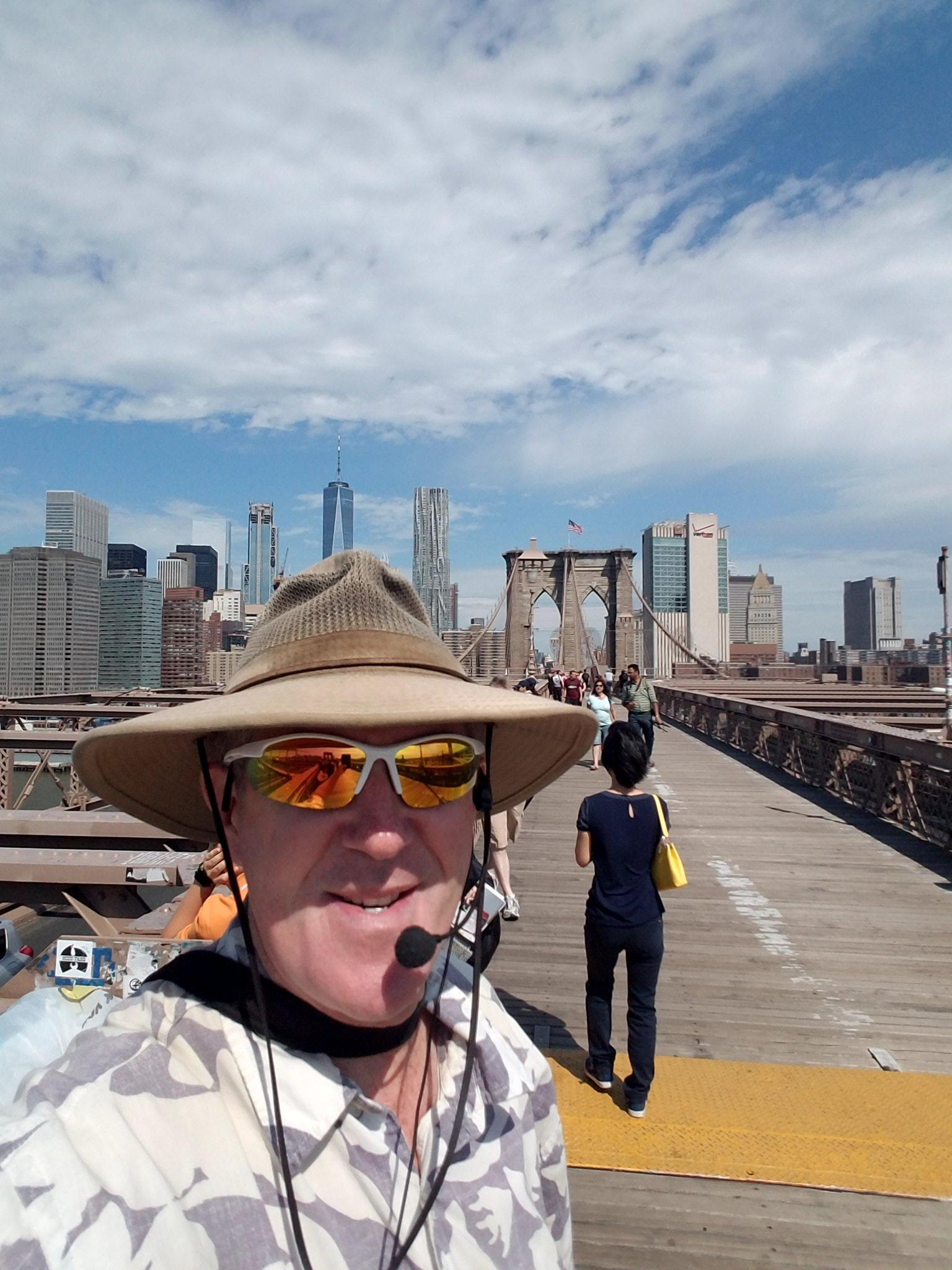 Tour guide Stan will share his vast knowledge with you as you explore the city.