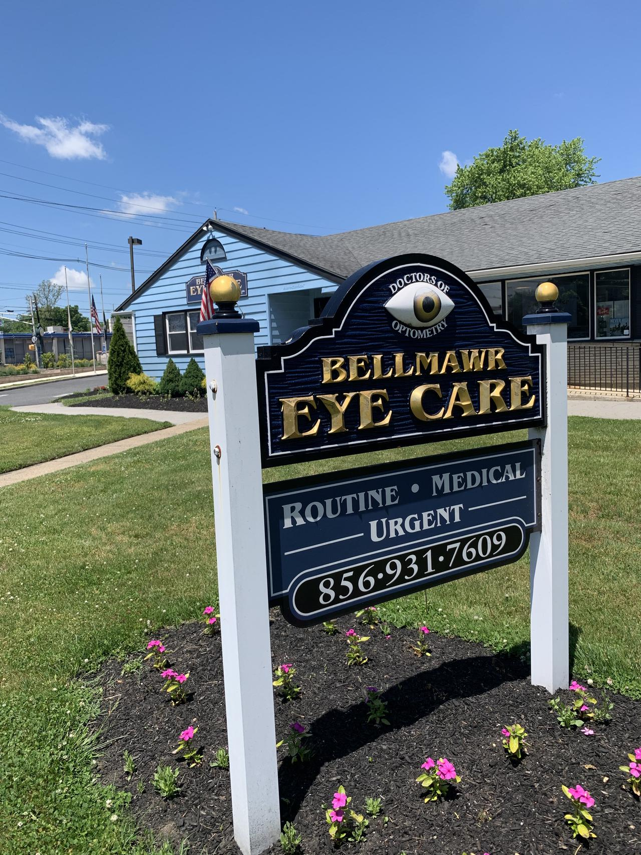 bellmawr eye care sign