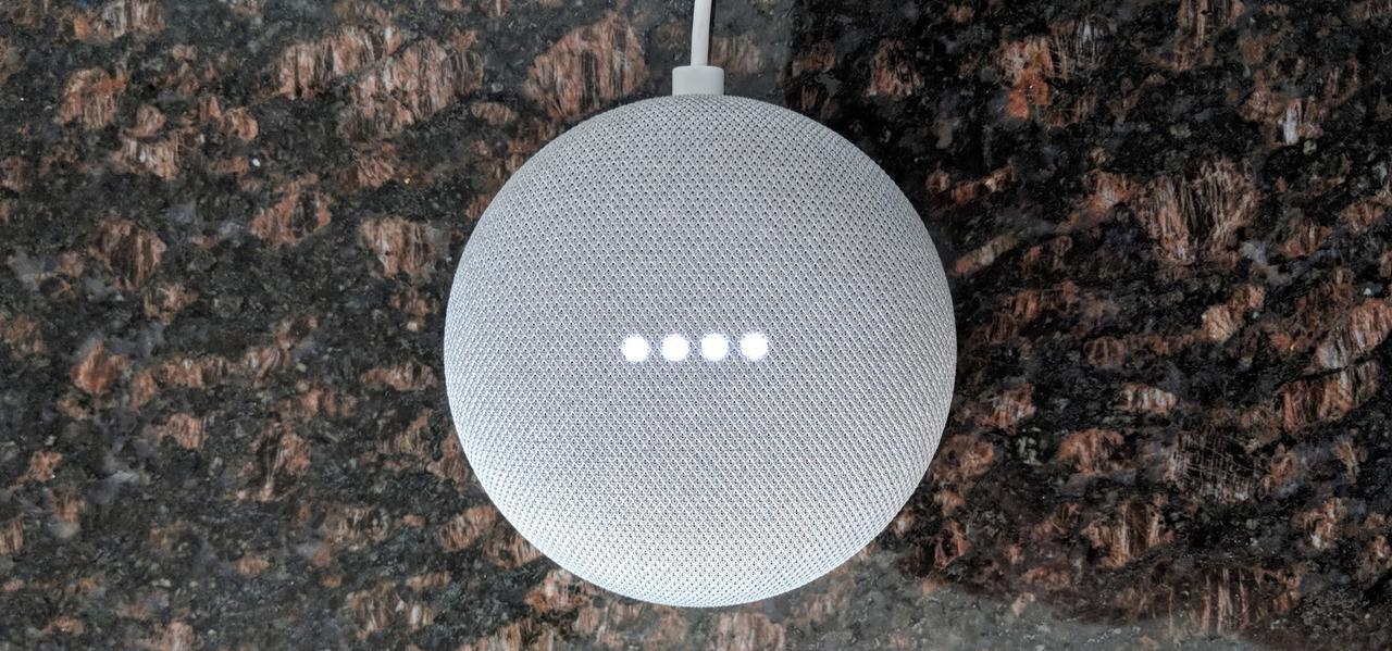 A Google Mini.