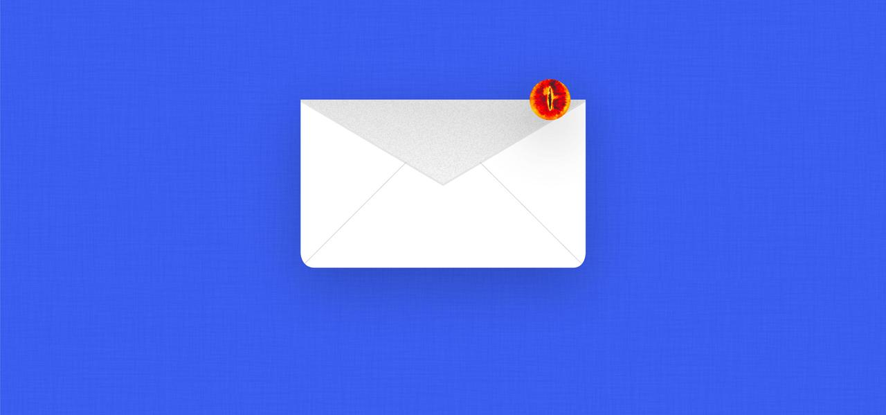 Email with a notification icon.