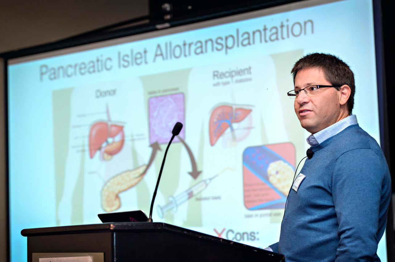 An intriguing presentation on transplants at one of our wound care industry events.