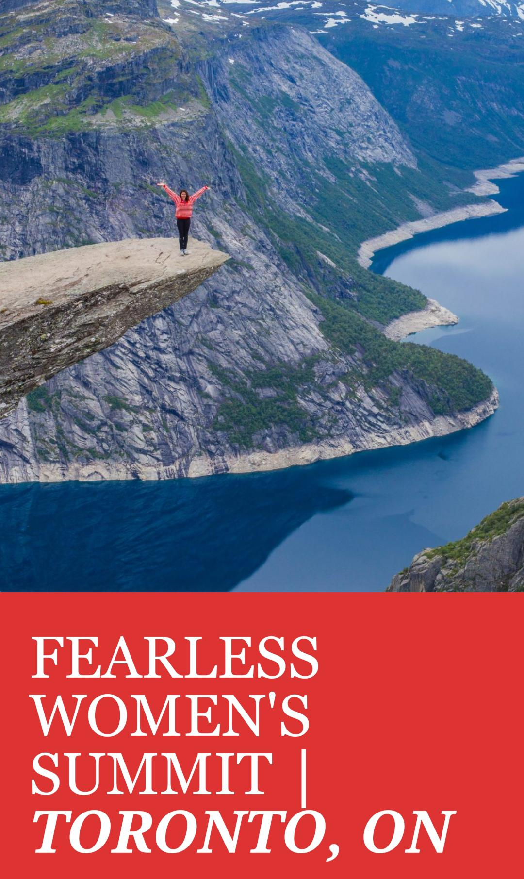 Fearless One Woman Summit