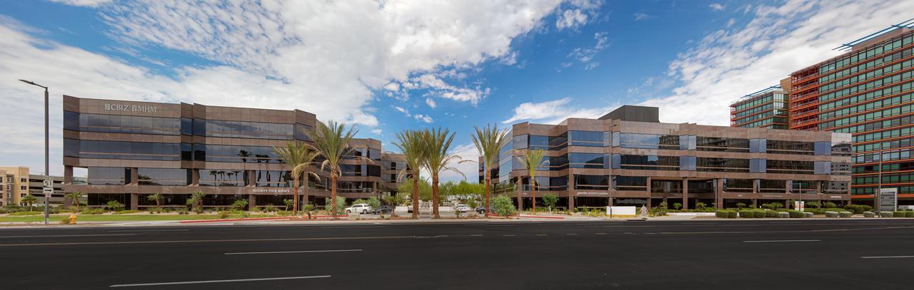 outdoor view of camelback corridor office complex<br/>