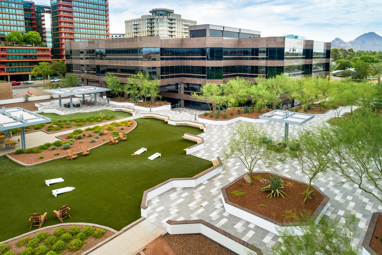 commercial real estate with amenities layout in phoenix<br/>