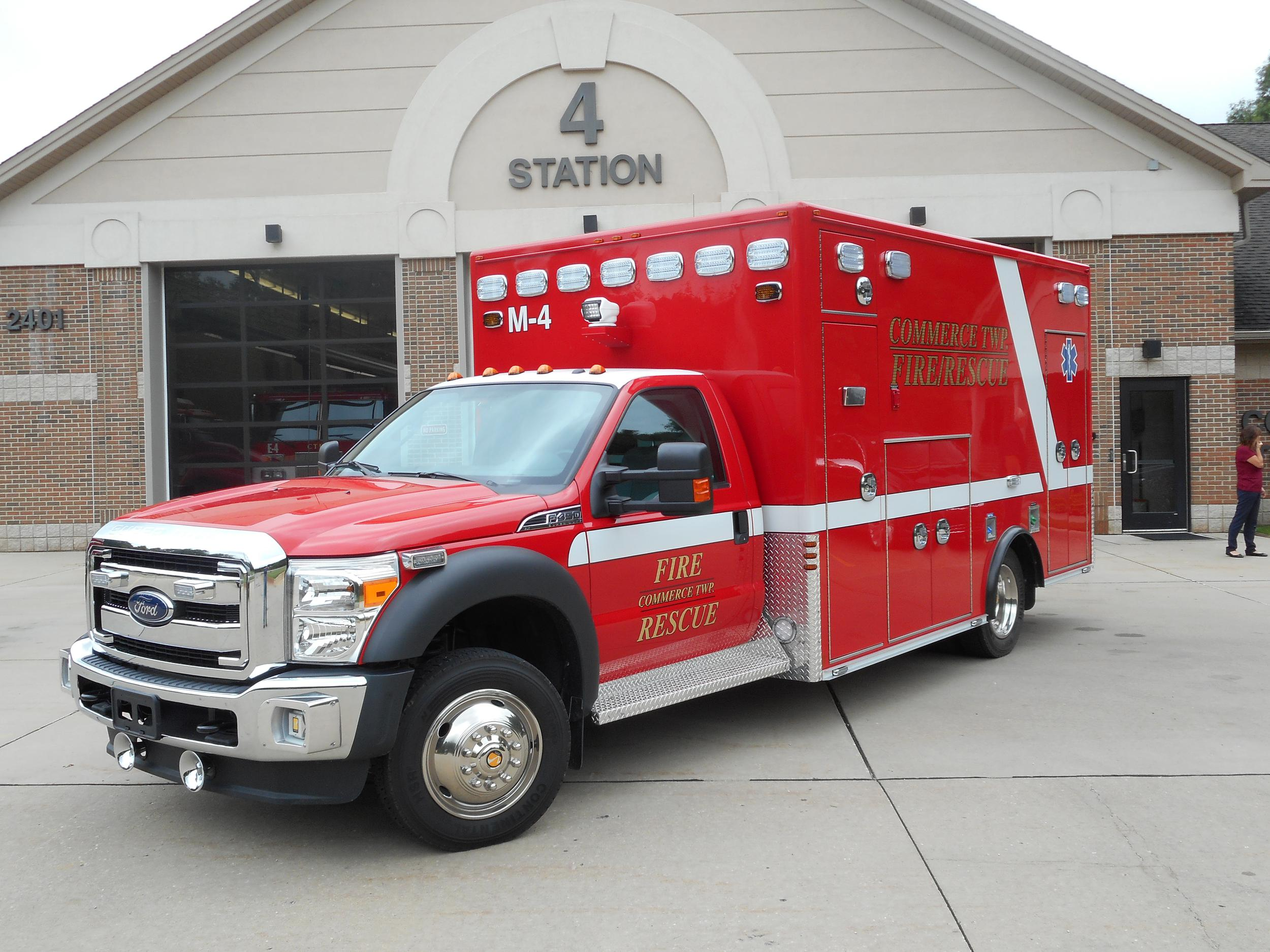 We offer Type I ambulances for sale in Michigan.