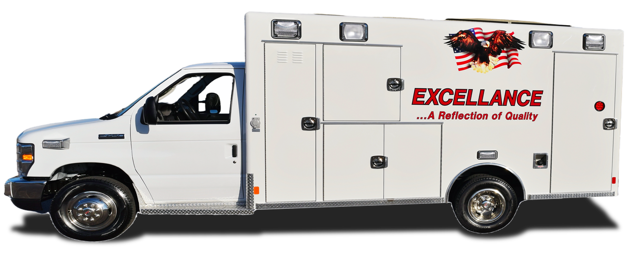 Work with Michigan's trusted ambulance dealers for Excellance emergency vehicles.
