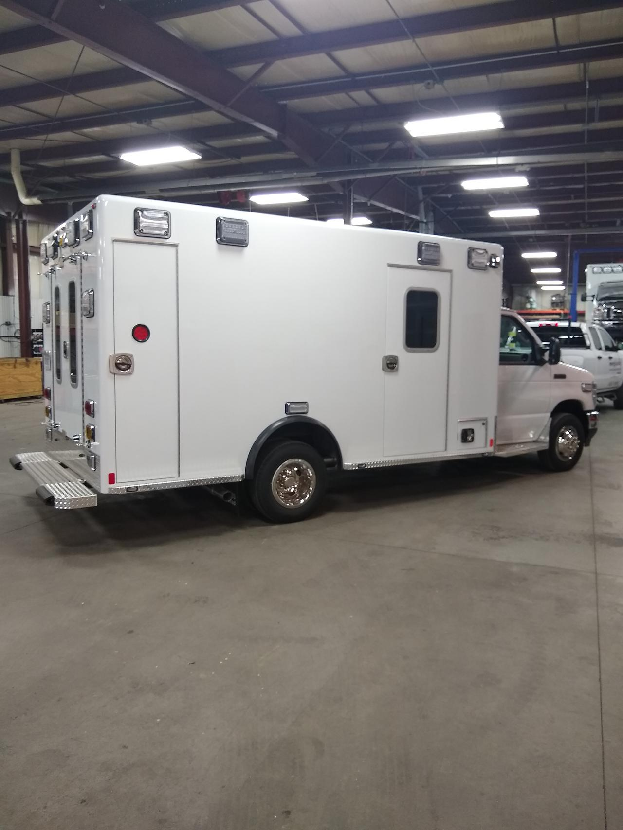 Get complete ambulance re-chassis in Saginaw, MI.