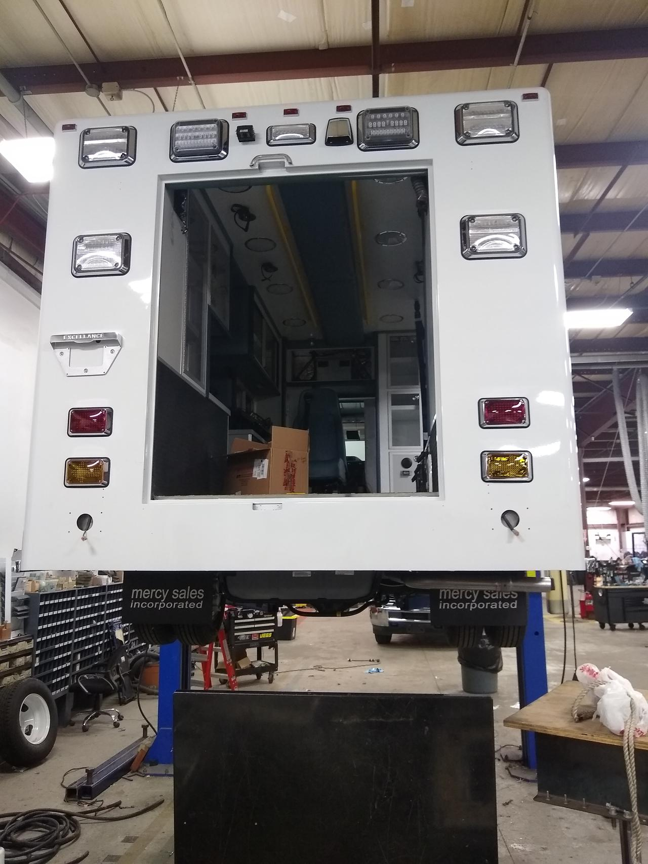 Our Mercy Sales and Service re-chassis service.