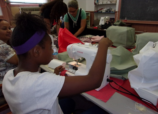 YOUTH SEW GREEN SEWING CAMP