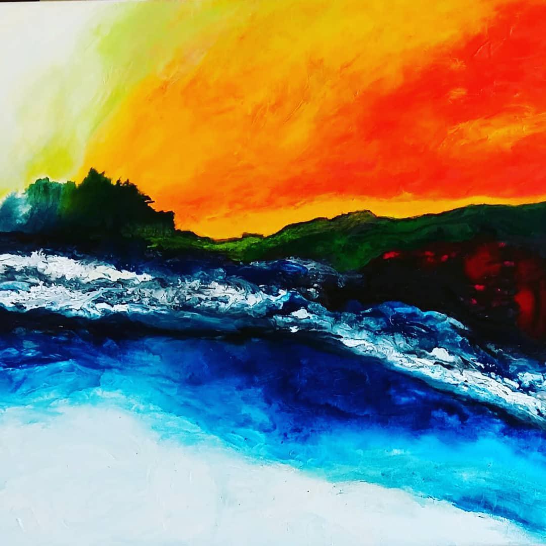 Landscapy by vancouver artist nadija szram