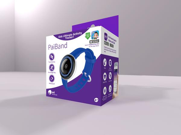 PaiBand Kids Activity Tracker - Blue